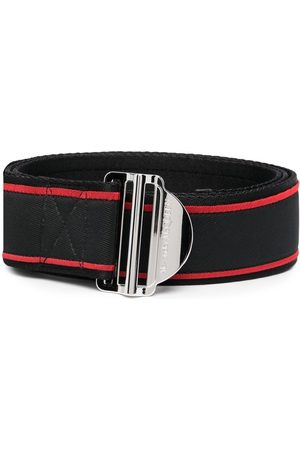 Alexander McQueen Muži Pásky - Logo-print belt