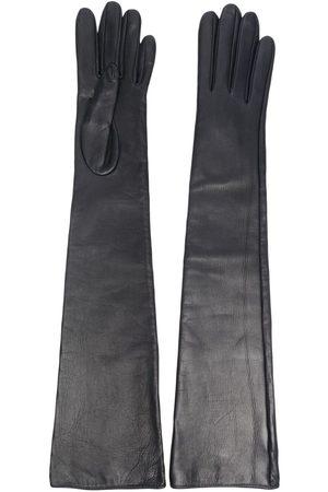 Manokhi Ženy Rukavice - Elbow-length leather gloves