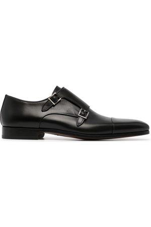 Magnanni Double-buckle monk shoes