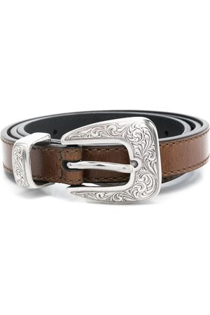 KATE CATE Buckled leather belt