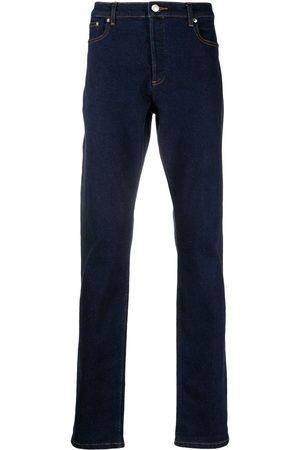 A.P.C. Muži Rovné nohavice - Straight-leg dark-wash jeans