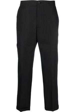 Alexander McQueen Logo-strap tailored trousers