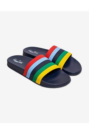 Happy Socks Muži Pantofle - Pool Slider Stripe Pantofle