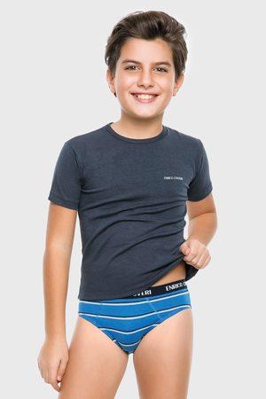 Enrico Coveri Dětské soupravy - Chlapecký SET trička a slipů Marvin