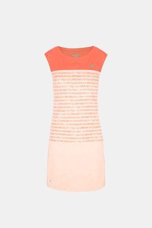 LOAP Dámské oranžové šaty Abrisa