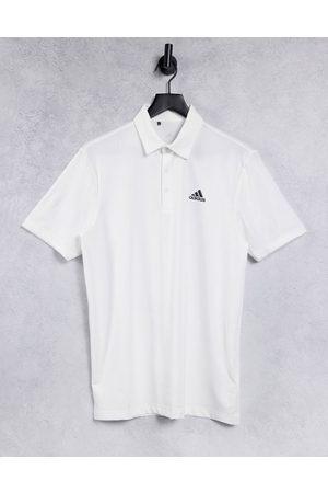 adidas Golf Muži S límečkem - Ultimate 365 polo shirt in white