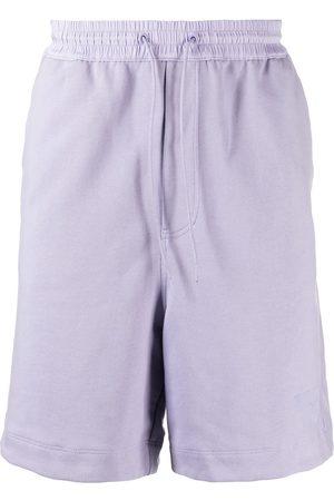 Y-3 Tonal-logo track shorts