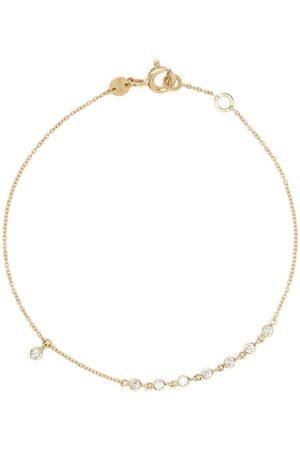 White Bird 18kt yellow gold diamond Clarisse Rich bracelet