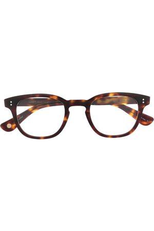 GARRETT LEIGHT Douglas round-frame glasses