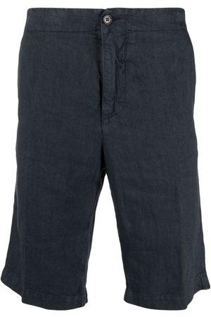 Aspesi Muži Bermudy - Linen bermuda shorts