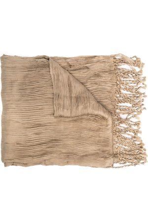 Issey Miyake Šály a šátky - 2000s fringed scarf