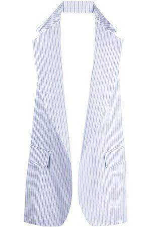 Comme des Garçons Pinstripe-print waistcoat