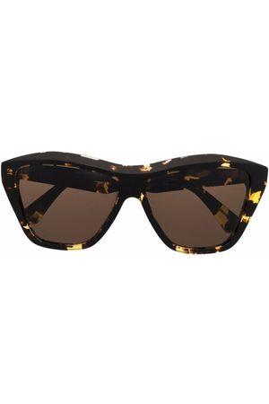 Bottega Veneta Muži Sluneční brýle - Tortoiseshell-effect geometric-frame sunglasses