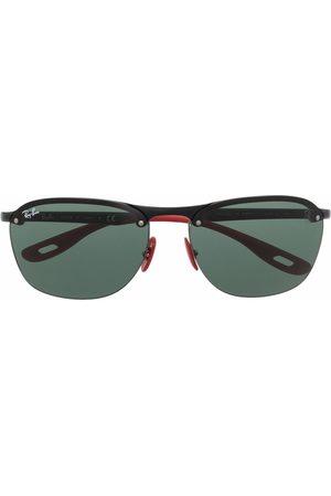 Ray-Ban Muži Sluneční brýle - Round-frame tinted sunglasses