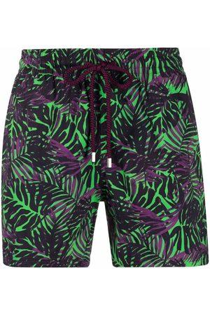Vilebrequin Palm-tree print swim shorts
