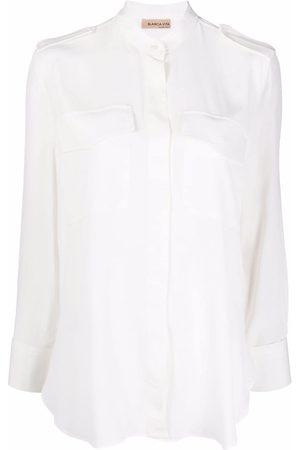 BLANCA Long-sleeved military shirt