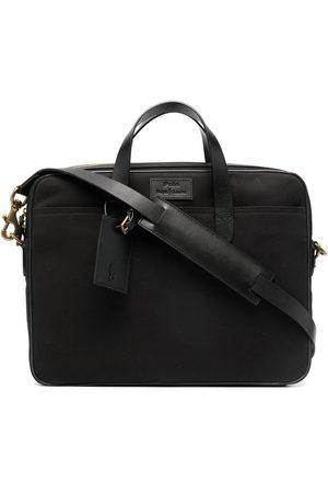 Polo Ralph Lauren Muži Tašky na notebook - Commuter logo-patch briefcase