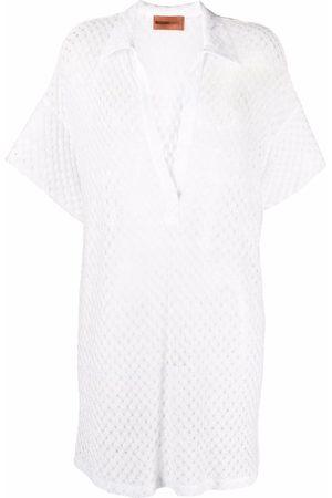 Missoni Mare Pointelle-knit tunic dress
