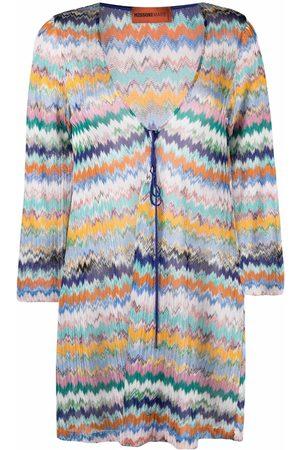 Missoni Mare Ženy Pletené - Zigzag-knit tunic dress