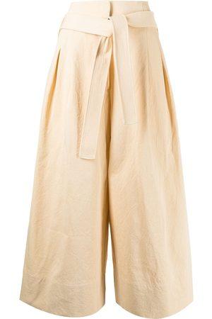 Jil Sander High-waisted belted palazzo pants