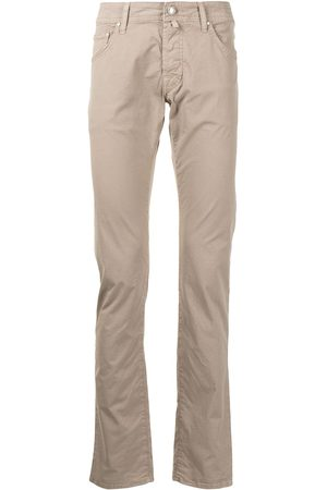 Jacob Cohen Crinkled slim-fit trousers