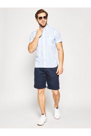 Tommy Hilfiger Muži S krátkým rukávem - Pánská košile se vzorem