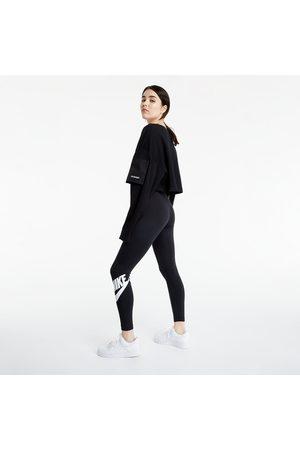 Nike Ženy Kalhoty - Sportswear W Essential High-Rise Leggings Black/ White