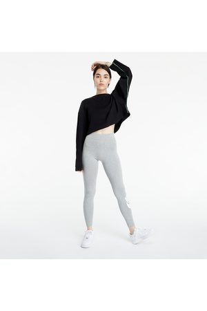 Nike Sportswear W Essential High-Rise Leggings Dk Grey Heather/ White