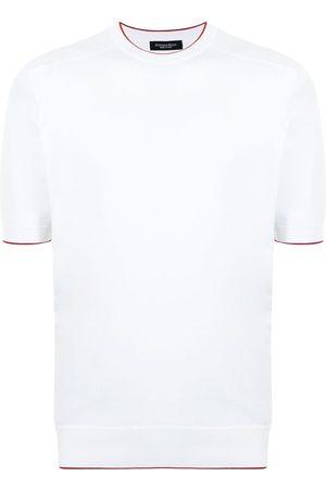 Stefano Ricci Contrasting-stripe T-shirt