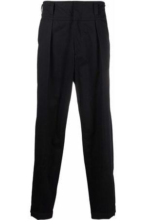 AMBUSH Muži Rovné nohavice - Pleat detail tapered trousers
