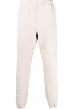 Les Tien Tepláky - Elasticated cotton track pants