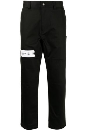A Bathing Ape High-waisted straight leg trousers