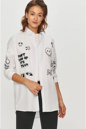 ANSWEAR Ženy Trička - Bavlněné tričko