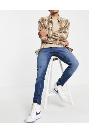 French Connection Muži Skinny - Skinny fit jeans in mid blue