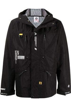 AAPE BY A BATHING APE Zip-front hooded jacket