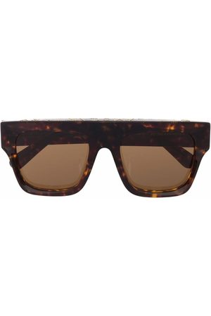 Stella McCartney Tortoiseshell aviator-frame sunglasses