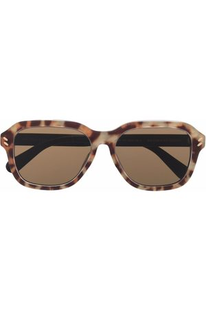 Stella McCartney Tortoiseshell square-frame sunglasses