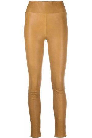 SPRWMN High-waist leather leggings