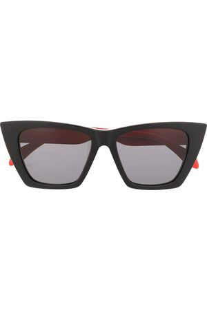 Alexander McQueen Selvedge cat-eye frame sunglasses