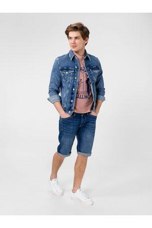 Pepe Jeans Muži Šortky - Pánské džínové šortky