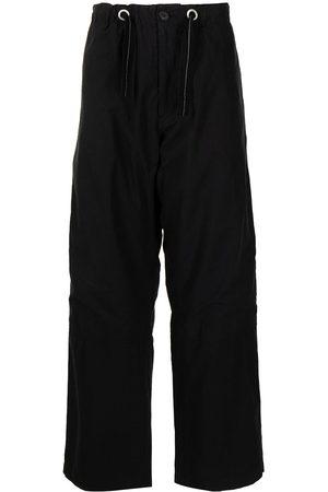 OAMC Muži Rovné nohavice - Drawstring-waist cotton trousers