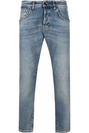 PRPS Stonewashed straight-leg jeans