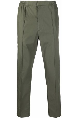 Alexander McQueen Muži Rovné nohavice - Logo-strap trousers