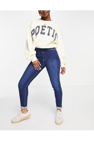 MANGO Skinny jeans in blue