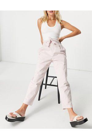 Mango Ženy Legíny - Trouser in pink