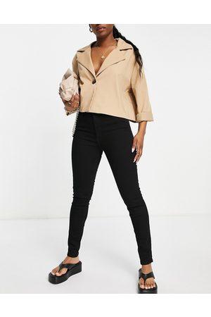 MANGO Skinny jeans in black