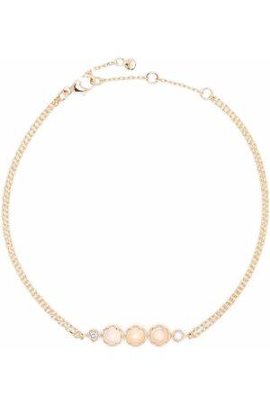 Dinny Hall Ženy Náramky - 14kt yellow gold opal and diamond bracelet