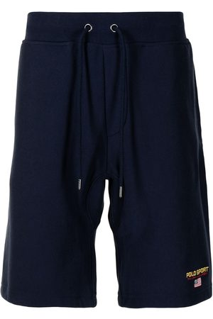 Polo Ralph Lauren Muži Kraťasy - Logo-embroidered drawstring shorts
