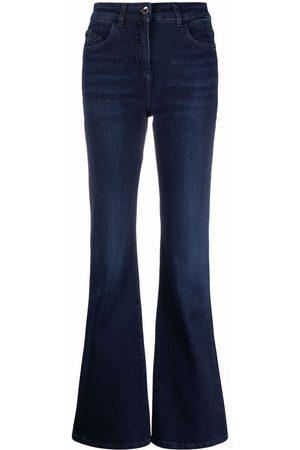 Patrizia Pepe Ženy Bootcut - High-waist flared jeans