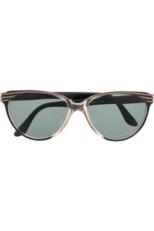 Yves Saint Laurent Ženy Sluneční brýle - 1980s tinted round-frame sunglasses